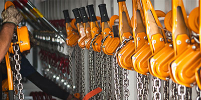 Delta Rigging & Tools: Products - Hoists