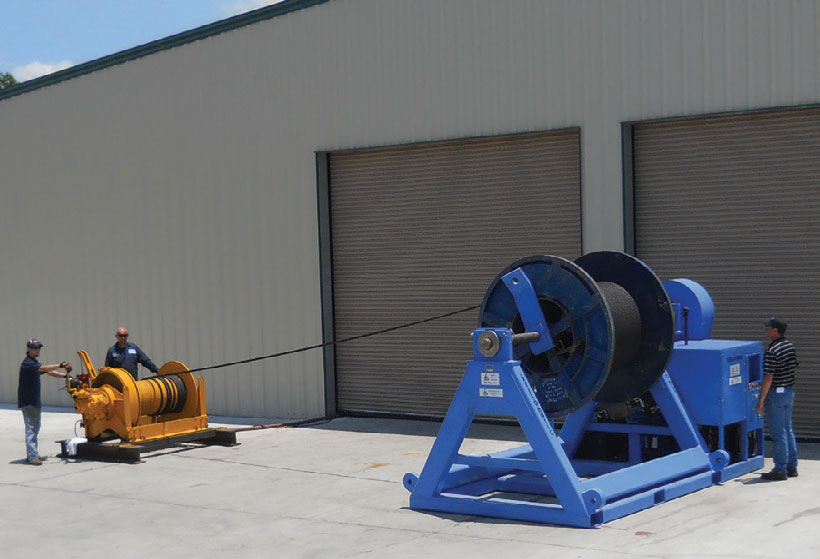 Wire Rope Spooling - Delta Rigging & Tools